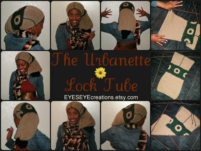 Urbanette  Loc Tubemade to order  dreadlock badu urban image 0