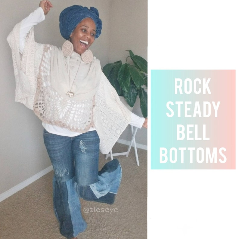 ROCK STEADY Bell Bottoms / Flare Leg Jeans image 0