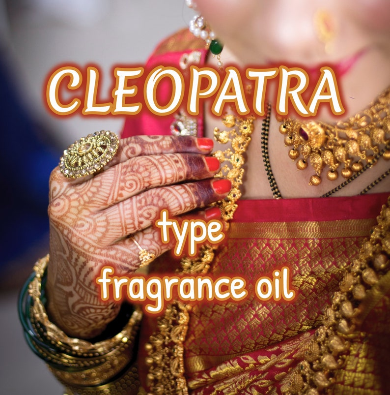 CLEOPATRA type Fragrance Body Oil image 0