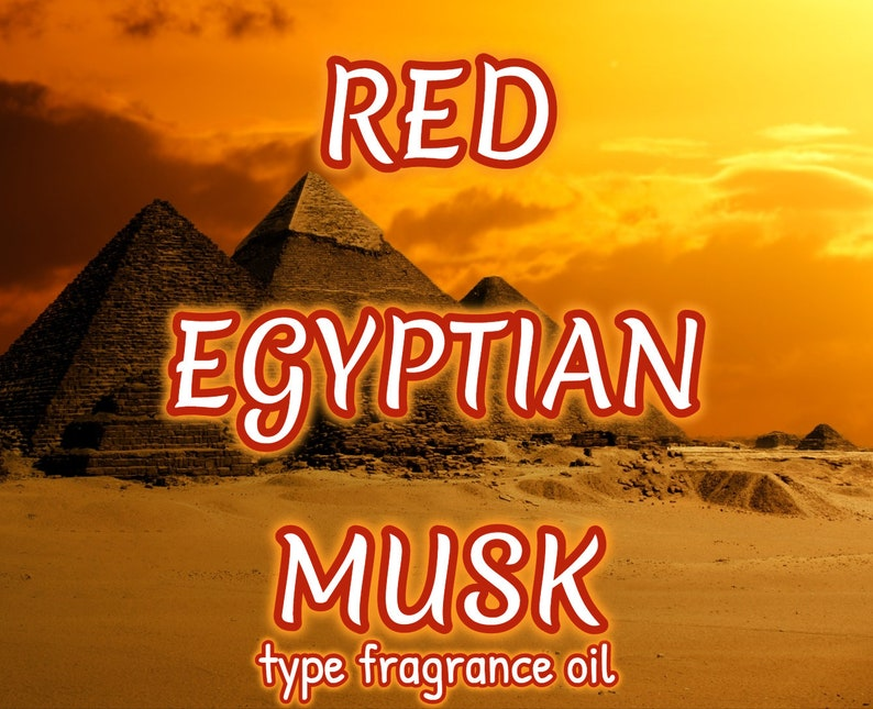 RED EGYPTIAN MUSK Fragrance Body Oil image 0