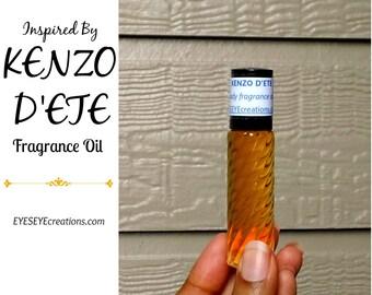 Fragrance Oil Inspired by KENZO D'ETE (men) - 1/3, 1/2, or 1 ounce (oz)