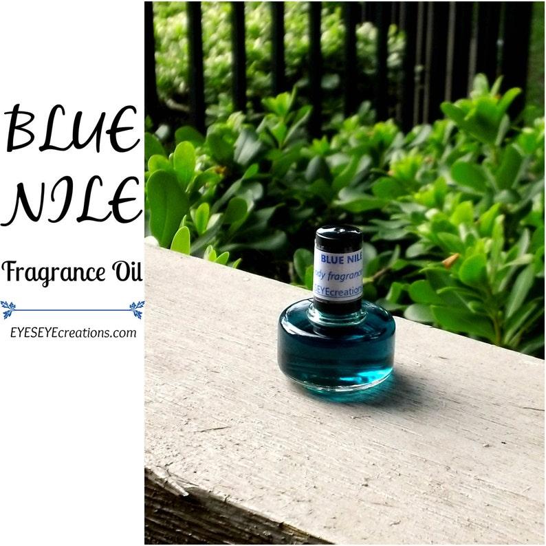BLUE NILE Fragrance Body Oil 1/3 1/2 or 1 ounce oz image 0