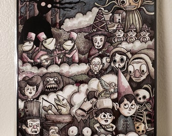Over the Garden Wall Signed 8x10 print