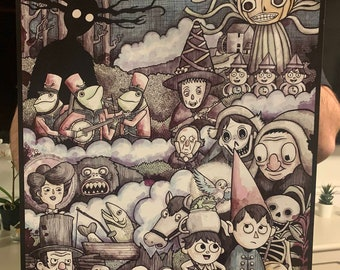 Big Over the Garden Wall 16x20 Signed Poster
