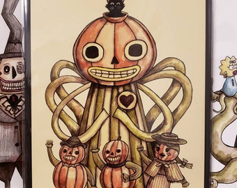 Enoch Signed 8x10 Over the Garden Wall Print