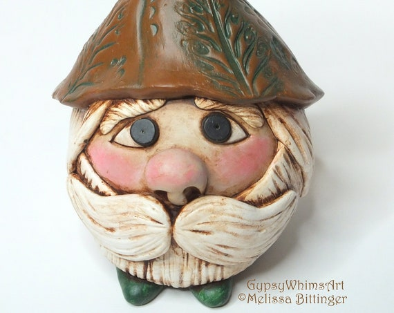Fall Autumn Woodland Forest Gnome