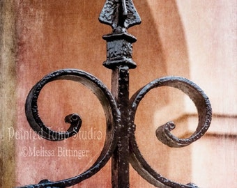 Iron Gate Post
