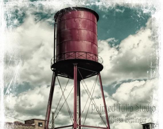 Vintage Water Tower Revolution Mill