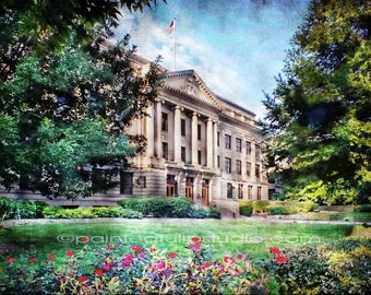 Guilford County Courthouse Summertime