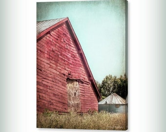 Red Hay Barn