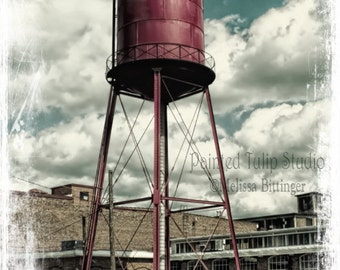 Vintage Water Tower Revolution Mill