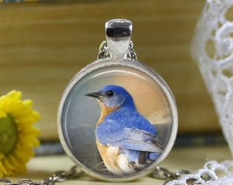Bluebird Pendant Necklace