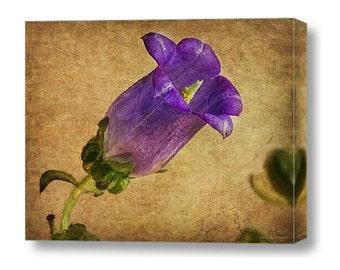 Vintage Purple Flower