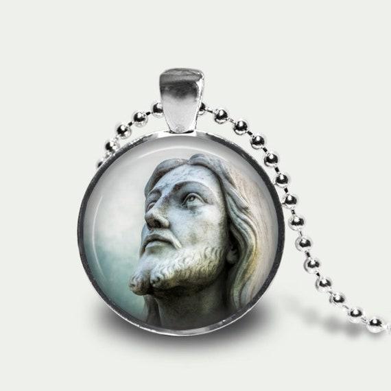 Jesus Christ Christian Inspiration Pendant Necklace Jewelry
