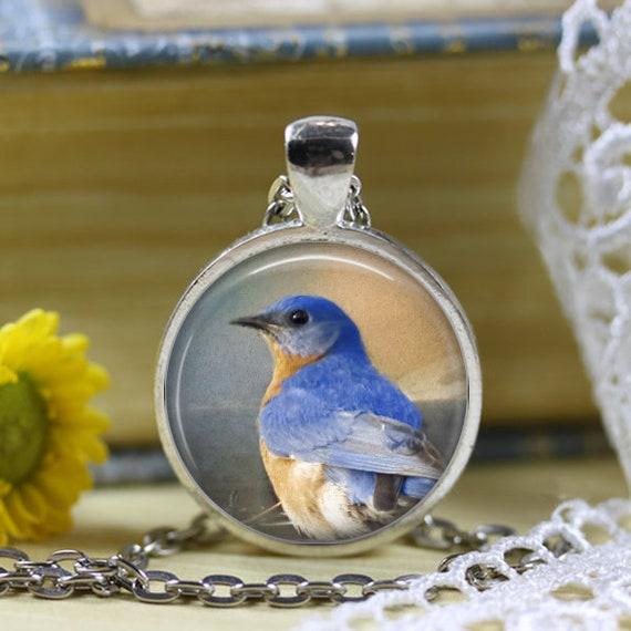 Bluebird Pendant Necklace
