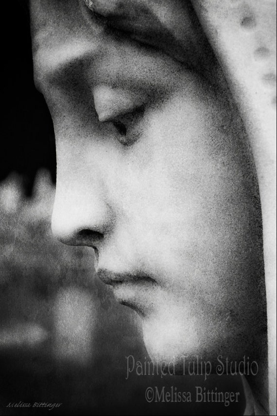 In Mourning (b/w)