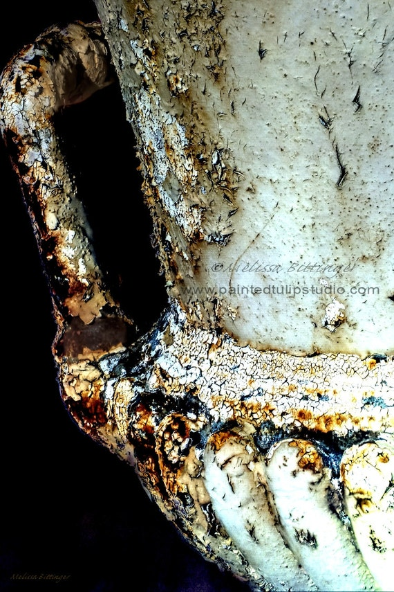 Rusted Garden Urn