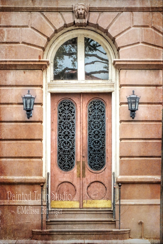 Charleston South Carolina Door and Window Transom Historic Building East Bay and Broad Sts Fine Art Photo Print or Gallery Wrap Canvas