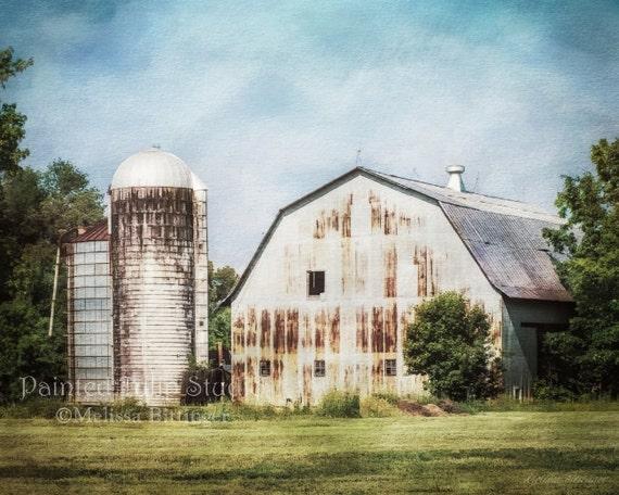 Rustic Metal Barn