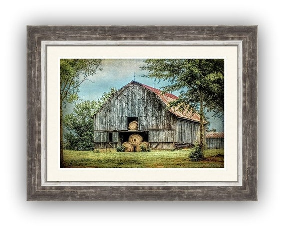 Summertime Rustic Barn