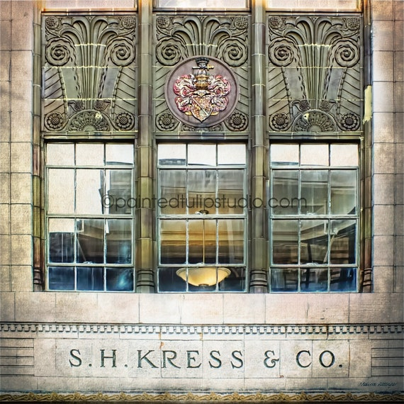 Kress Art Deco Window