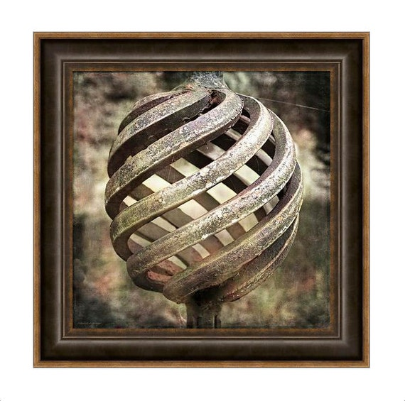 Rusty Iron Basket