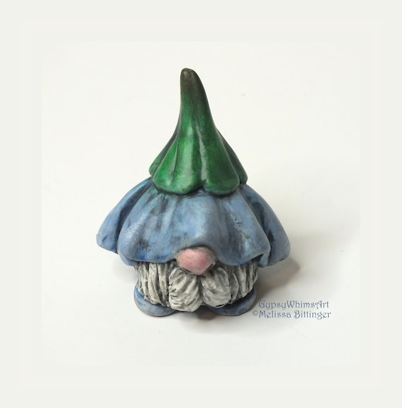 Whimsical Gnome with Flower Hat