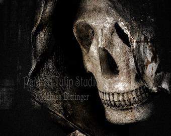 Grim Reaper Angel of Death Spooky Dark Goth Macabre Art Photography Print or Canvas