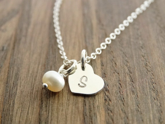 Bridesmaid Necklace Swarovski Crystal Necklace Pearl Necklace Bridesmaid Gift Set Birthstone Necklace wedding Jewelry