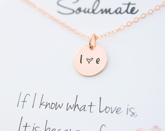 Couples Necklace with initials necklace • Heart necklace • Engraved necklace • Custom necklace • Personalized necklace • Gift for her