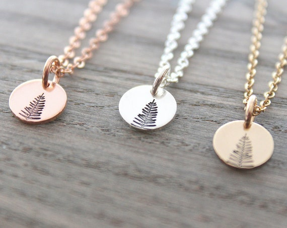 Evergreen Tree Necklace Tree Pendant Sterling Silver Pine Necklace Winter Tree Winter Tree Necklace Rose Gold Necklace Silver Tree Necklace