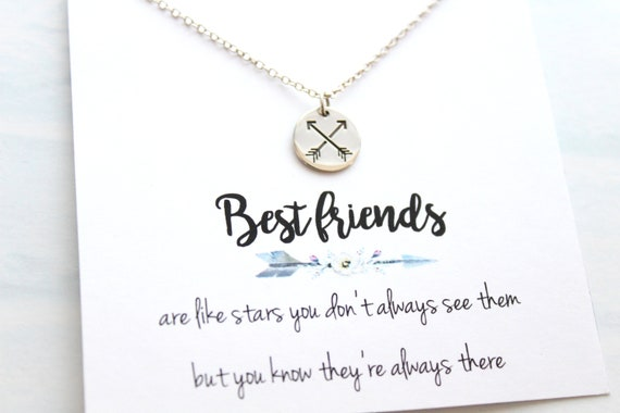 Arrow Necklace, Crossed Arrows Necklace, Friendship Necklace, Best Friend Necklace, Crossed Arrow Necklace, Friendship Gift