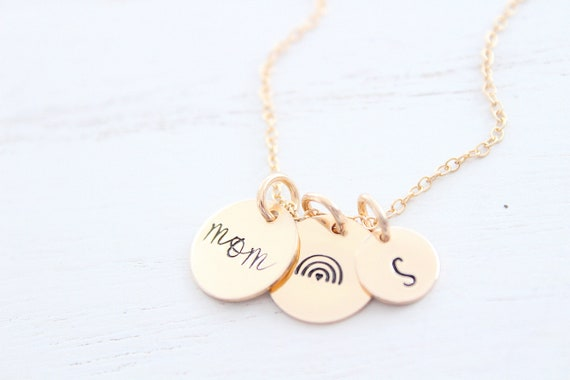 Rainbow Baby Necklace gold silver or rose gold • Rainbow Necklace • Angel Mama Necklace • Personalized Gift for Mom Necklace • Gift for Her