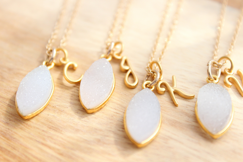babd19910 Bridesmaid Necklace Personalized necklace Bridesmaid jewelry ...