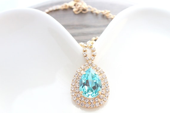 Wedding necklace Bridal jewelry Wedding Jewelry Swarovski Crystal Bridal Necklace Bride necklace necklace Crystal necklace Bridal jewelry