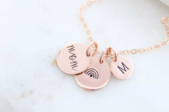 Rainbow Baby Necklace gold silver or rose gold, Rainbow Necklace, Angel Mama Necklace, Personalized Gift for Mom Necklace, Gift for Her