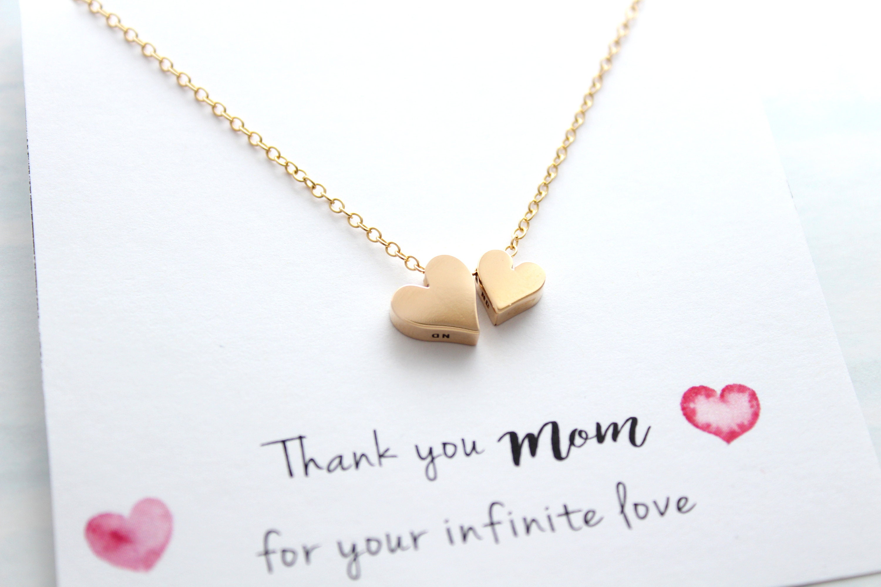 Mom Gifts Necklace For From Daughter Son