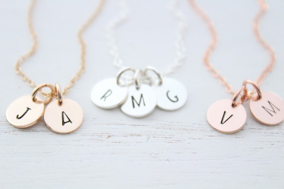 Personalized Gift for mom Personalized Initial Necklace Letter Necklace For Women Jewelry Custom Charm Necklace Initial Jewelry