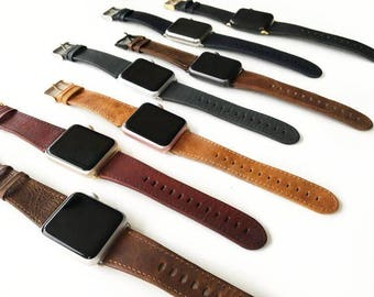 Apple watch band, Apple Watch Band Leather, Apple Watch Strap, Apple watch band 42mm, Apple watch band 38mm women