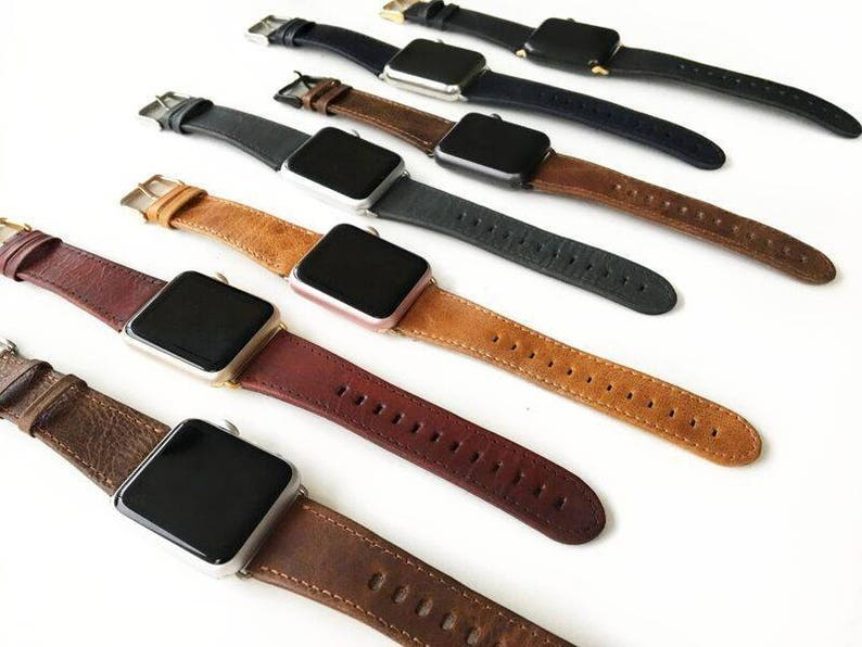 Apple watch band Apple Watch Band Leather Apple Watch Strap image 0