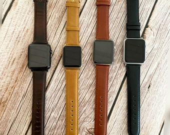 Apple watch band, Apple watch band leather, apple watch band 38mm, Apple watch band 42mm, Apple Watch Strap,