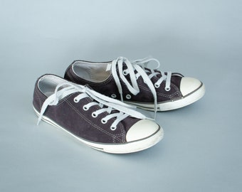 be175fe49aa50f Converse Trainers Sneakers Brown Leather Vintage Women s UK 5.5 EU 38.5 US  7.5