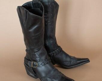 6b81f759a75fd Low cowboy boots | Etsy