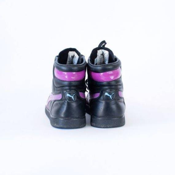 noir UK cuir Reebok Sneakers 7 en age 9 US Vintage Euro 41 90 5 5 la formateurs femmes q81zpX