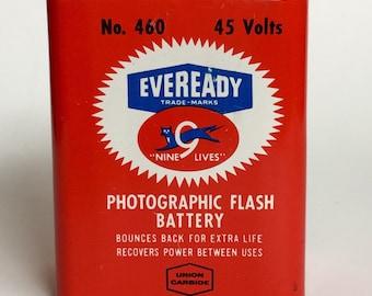 Vintage Nine Lives Eveready Battery