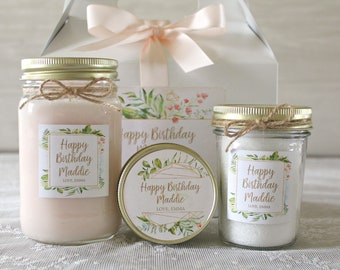 Birthday Gifts For Her Personalized Gift Box Happy Spa Set Mom