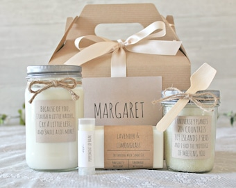 Friendship gift box / Best Friend Gift / Spa Gift Set / Send a Gift / Gift for Her / Gift For Him / Boyfriend Gift / Friend Birthday Gift