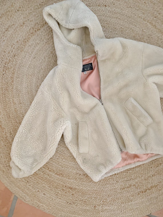 Vintage Express Teddy Coat