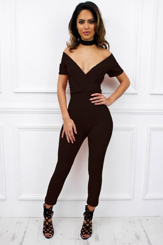 eedf66c8ea9 New Womens Ladies Belice Black Bardot Style Off