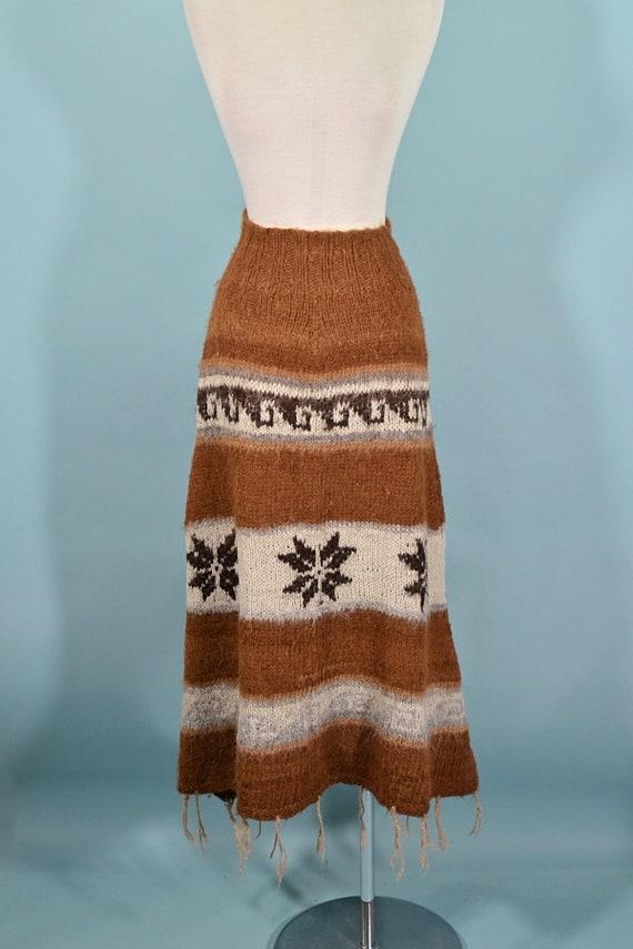 Vintage Carousel Of Philadelphia 70s Maxi Dress SM